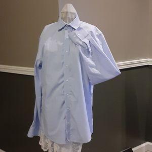 Nordstrom rack no iron shirt 15.5 34/35 trim fit